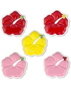126P: Hibiscus Plain Mini Ornament
