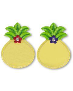 127P: Pineapple Plain Mini Ornament