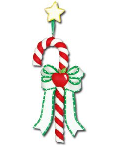 CL104: APPLE CANDY CANE