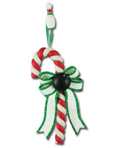 CL252: BOWLING BALL CANDY CANE