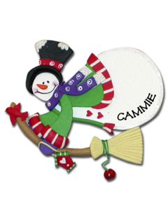 CL400B: Flying Snowman - Broom