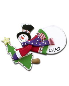 CL400: FLYING SNOWMAN