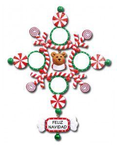 CL404B: Bear Snowflake - 4