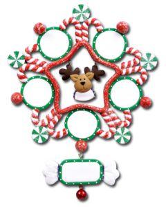 CL405: Reindeer Snowflake - 5