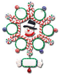 CL406: Snowman Snowflake - 6