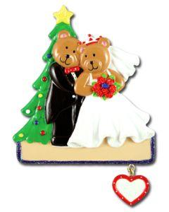 CR139: CHRISTMAS TREE WEDDING COUPLE