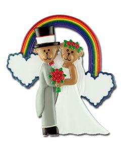 CR159: WEDDING COUPLE RAINBOW
