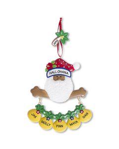 CR185N: New Tropical Santa w/ 5 Pineapples