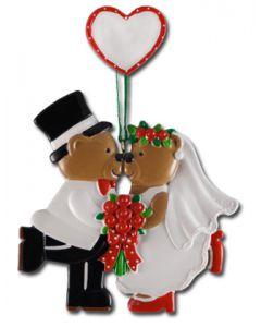 CR191N: Kissing Wedding Bears