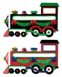CR354PK: TRAIN W/ GARLAND