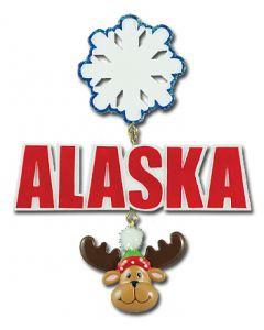 CR355M: ALASKA W/ SNOWFLAKE & MOOSE