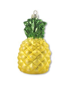GLS200Y: Yellow Glass Pineapple