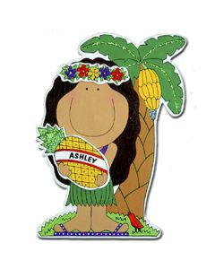 JK402: Pineapple Hula Girl