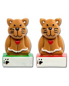 LR214C: GINGERBREAD CAT