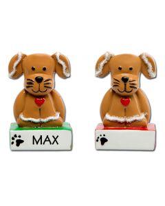 LR214D: GINGERBREAD DOG