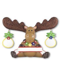 LR302T: Tropical Moose 2 Figurine