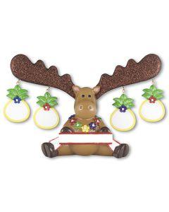 LR304T: Tropical Moose 4 Figurine