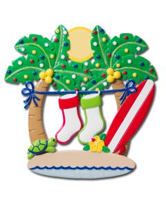 NT182: PALM TREES WITH STOCKINGS - 2