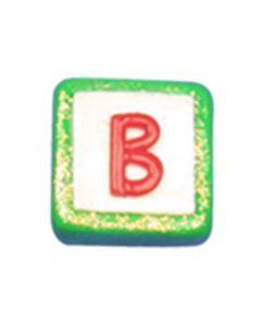 "ST200B: STOCKING LETTER ""B"" BEAD"