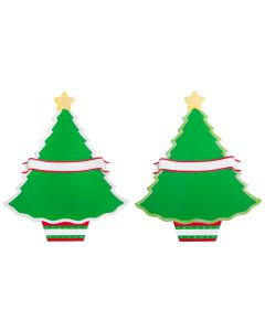 WA114: ADD-ON CHRISTMAS TREE w/ EASEL BACK