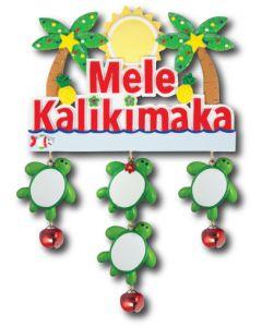 150N + 151 (4): Mele Kalikimaka + 4 Turtles
