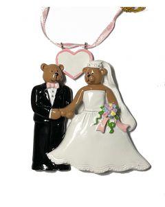LK152N Bear Wedding Couple