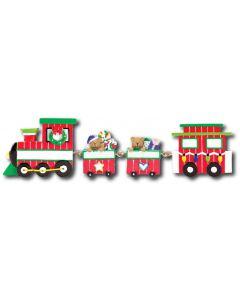LR109N + LR209 (2):  Tabletop Train Set + (2) Train Carts