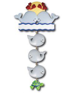 LR122 + LR222 (3): Whale Couple + (3) Whale Components