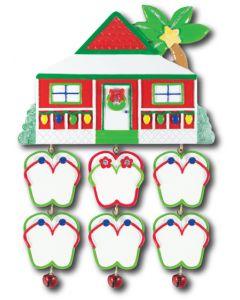 LR127 + LR227 (6): Plantation House + (6) Flip Flops