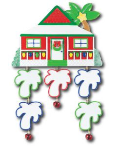 LR127 + LR228 (5): Plantation House + (5) Palm Tree