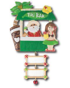 NT199 + LR225 (2): Tiki Bar w/Yellow Hibiscus + (2) Bamboo Signs