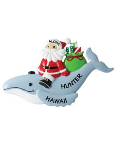 NT260:  Santa & Humpback Whale