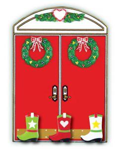WA405 + WA210 (3): Christmas Double Doors + (3) Cowboy Boots
