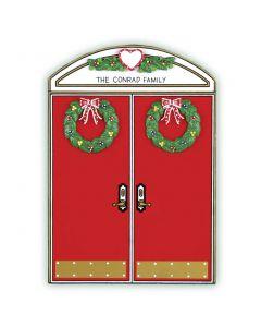 WA405: CHRISTMAS DOUBLE DOOR