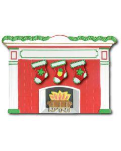 WA406 + WA301 (3): Fireplace + (3) Stockings